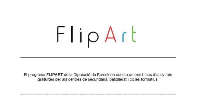 Alumnes de la ciutat s'acosten a diferents disciplines artístiques amb el programa FlipArt de la Diputació
