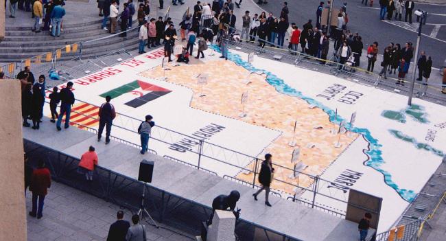 L'Arxiu Històric de Sabadell ingressa el fons de Solidaris amb el Poble Sahrauí