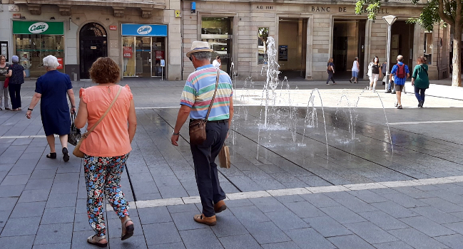 Nou contracte de manteniment de les fonts ornamentals de Sabadell