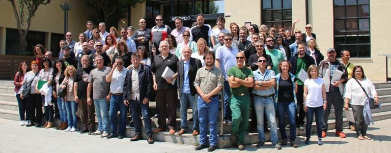 Cloenda de programes de formació i treball amb la participació de més de 70 persones