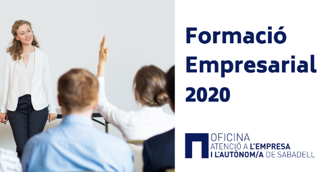 Obert el termini d'inscripció per a 7 noves activitats formatives per a persones emprenedores i empreses