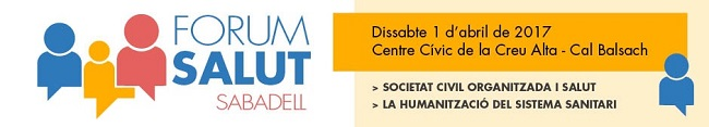 Neix el Fòrum Salut, un espai per promoure el debat i la participació ciutadana en aquest àmbit