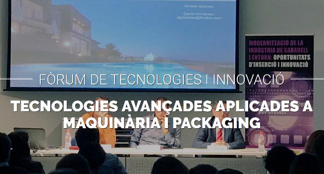 El VI Fòrum de Tecnologies i Innovació reunirà dijous més de 80 responsables d'empreses, centres tecnològics i de recerca