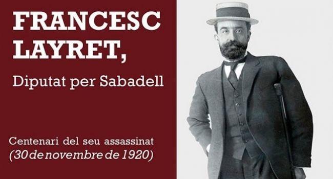 Lectura dramatitzada  de textos seleccionats de Francesc Layret, a càrrec de l'actor Jep Barceló