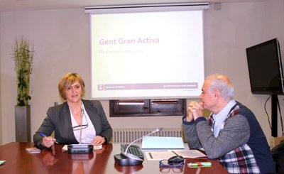 L'envelliment actiu i la participació social, eixos centrals del Pla d'Actuació de Gent Gran