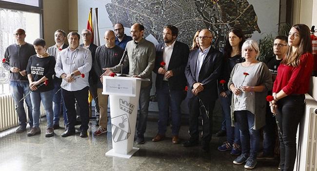 Compareixença pública de l'alcalde de Sabadell, Maties Serracant, en relació amb la citació rebuda per la Fiscalia per anar a declarar, per col·laboració en el referèndum de l'1 d'octubre