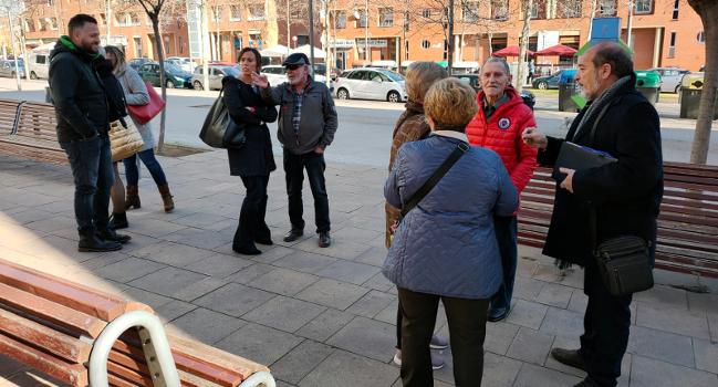 El Govern municipal es trasllada a la Roureda en una nova jornada de Govern als Barris