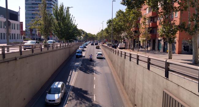 Reparacions al paviment de la Gran Via, del 22 al 24 d'agost