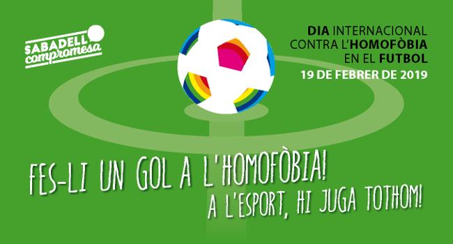 La campanya Fes-li un gol a l'Homofòbia fa una crida a eradicar qualsevol discriminació homòfoba en l'esport