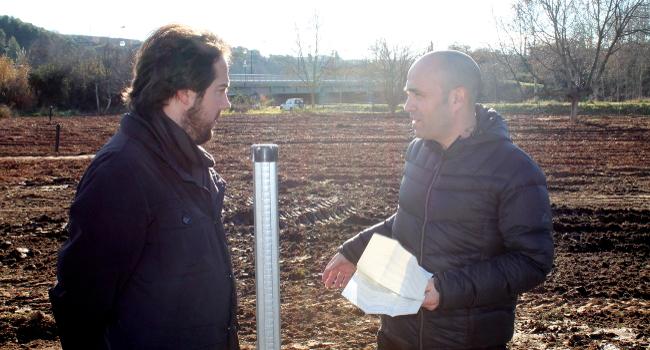 L'Ajuntament continua millorant les hortes del riu Ripoll