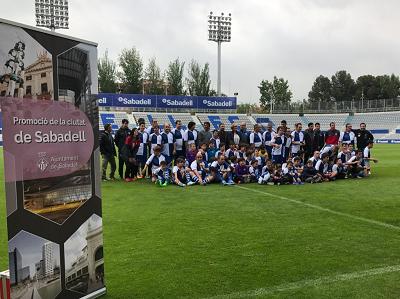 L'Ajuntament impulsa el projecte Inclusive Football, amb persones amb diversitat funcional