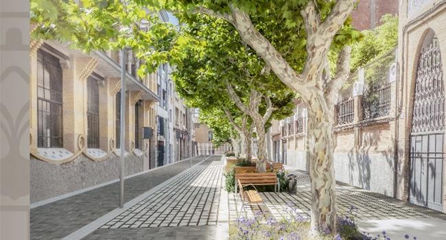 El carrer de la Indústria serà de prioritat per a vianants entre els carrers de Sant Joan i de Sant Llorenç