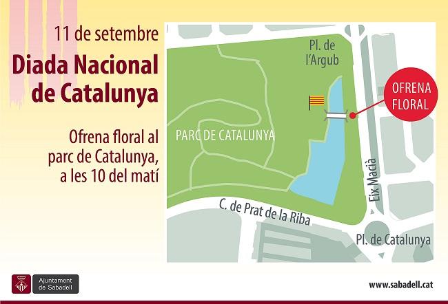 Els actes centrals de la Diada Nacional de Catalunya es faran aquest any a l'Eix Macià