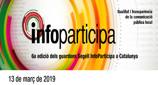 L'Ajuntament de Sabadell rep el Segell Infoparticipa que reconeix la transparència i la qualitat de la informació