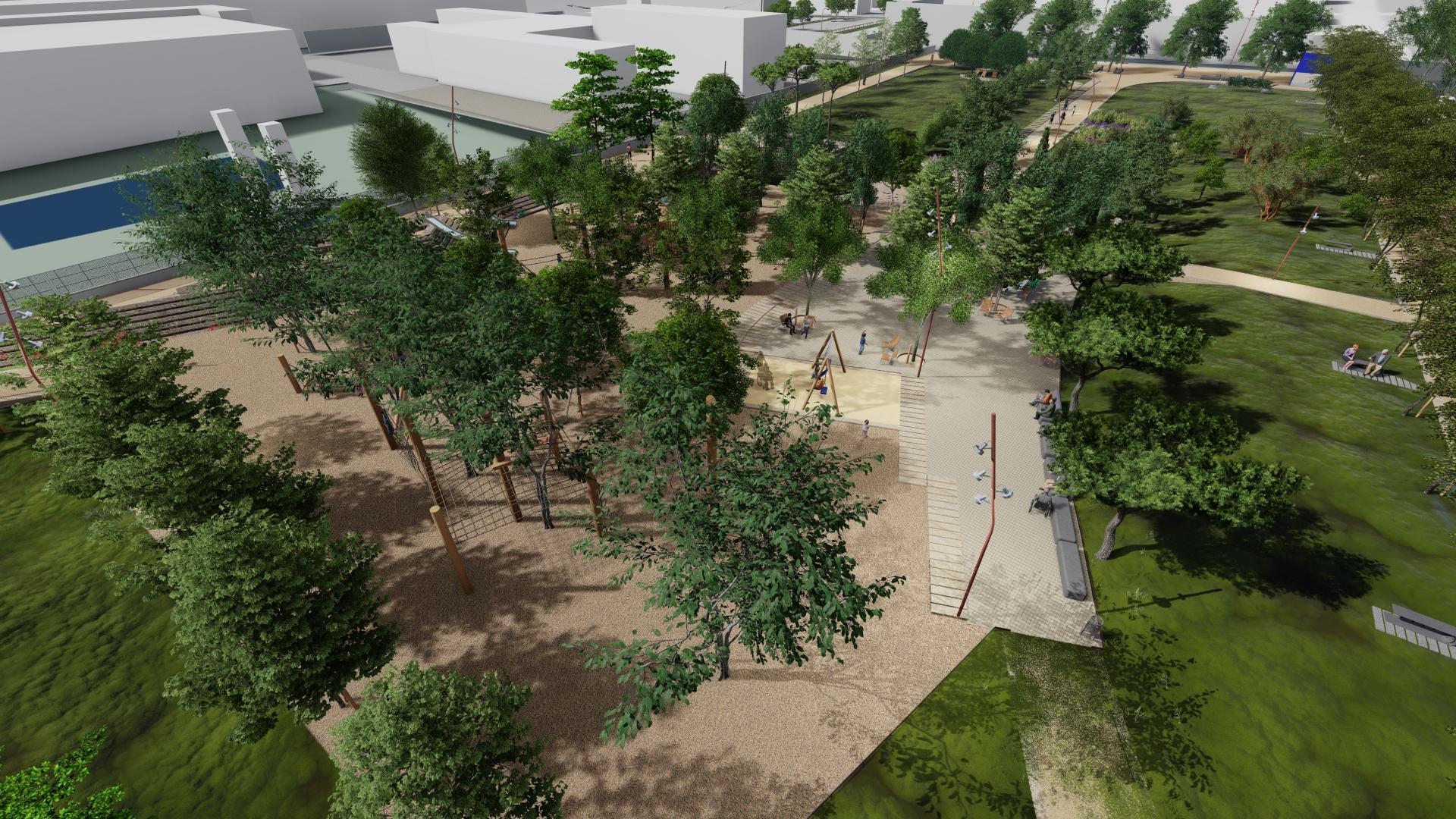 Primer pas per adjudicar les obres del futur Jardí del Sud