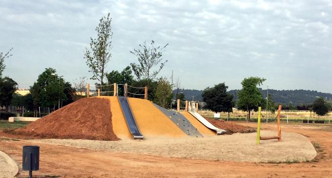 La nova gran àrea de jocs infantils del Parc Central del Vallès s'estrenarà divendres amb una festa popular