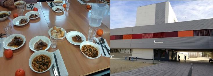 L'Ajuntament i la Creu Roja impulsen un nou servei de menjador per a alumnes de l'Institut Jonqueres