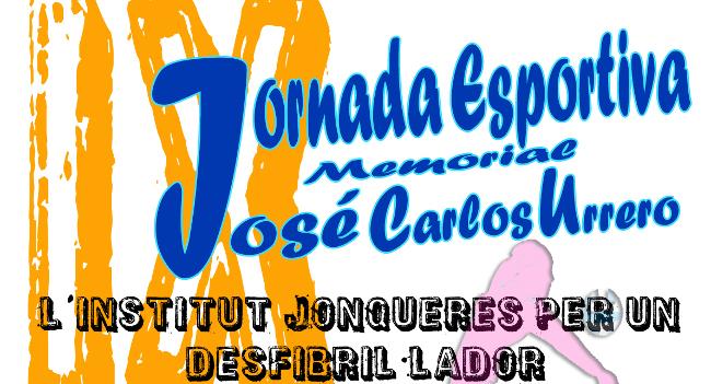 El proper dissabte arriba una nova edició de la Jornada Esportiva Memorial José Carlos Urrero