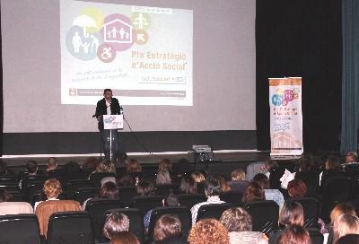 130 professionals municipals participar en la segona Jornada interna de treball sobre el Pla Estratègic d'Acció Social