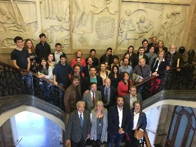 L'Ajuntament rep els joves intèrprets que durant 4 dies participaran en el Concurs de Joves Intèrprets a la nostra ciutat