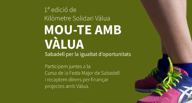 La Plataforma del Tercer Sector de Sabadell busca participants en la Cursa de la Festa Major 2019 per bescanviar km per donatius
