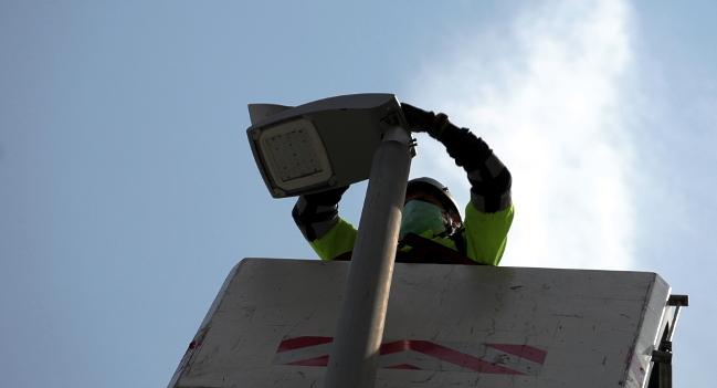 Avança a bon ritme el canvi de l'enllumenat públic a més de 720 carrers de la ciutat