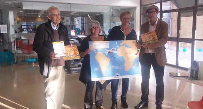 """L'associació Raid Latécoère, dona 80 exemplars del llibre infantil """"Léo, l'aviador"""" a les biblioteques i escoles de Sabadell"""
