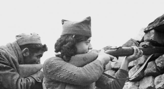 Presentació d'un llibre sobre la història oblidada de les milicianes antifeixistes