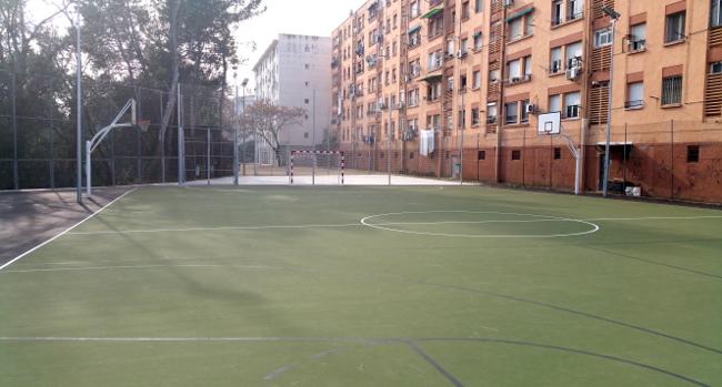 L'Ajuntament renova completament el Poliesportiu de les Termes