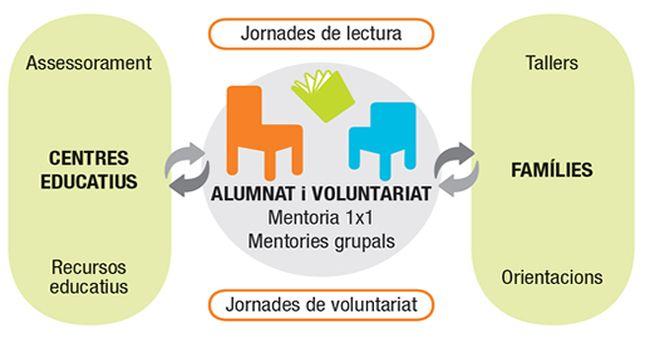 El Lecxit, que reforça la comprensió lectora amb el suport d'un voluntari, ha comptat enguany amb 37 infants