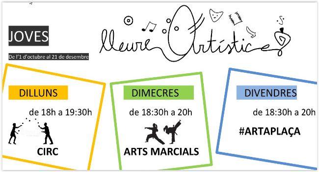 """El projecte """"Lleure artístic per a tothom!"""" impulsat per la Baldufa a Can Puiggener organitza aquest trimestre activitats obertes a tothom"""