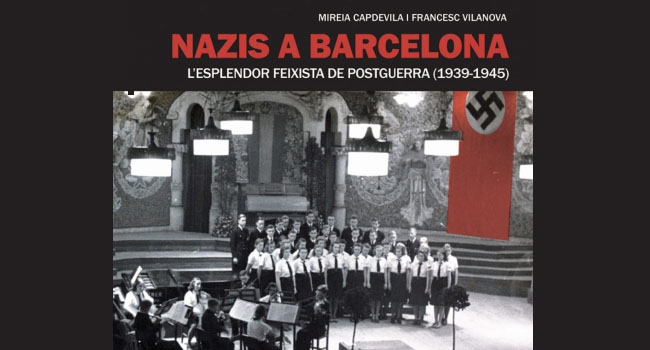 Presentació d'un llibre sobre la presència de representants nazis a Sabadell i altres ciutats catalanes als anys 1940