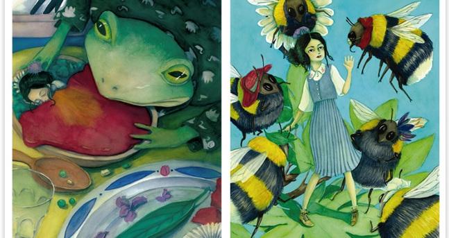 Una alumna de l'Escola Illa guanya el 2n premi a la VII edició del Premi Eva Toldrà d'Il·lustració