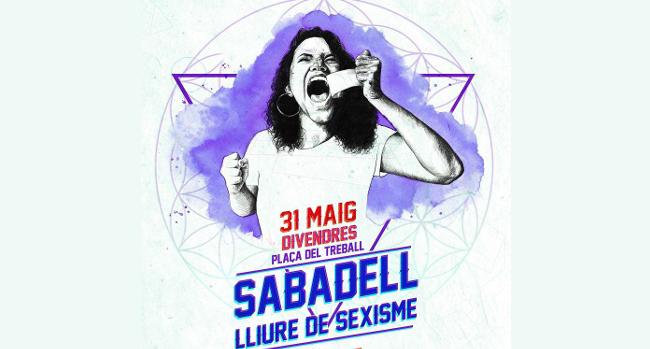 La jornada 'Sabadell lliure de sexisme' apel·larà al compromís de tothom per lluitar contra les violències masclistes