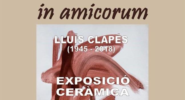 Dues exposicions simultànies homenatgen el ceramista sabadellenc Lluís Clapés