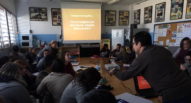 L'Escola Joaquim Blume s'incorpora com a centre Magnet per desenvolupar un projecte innovador en matemàtiques