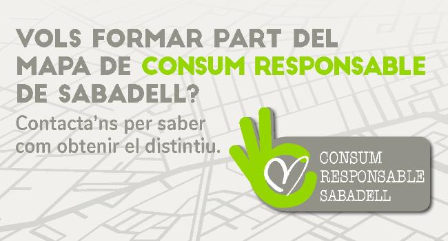 """L'Ajuntament impulsa el distintiu """"Consum Responsable Sabadell"""" per a comerços i entitats"""