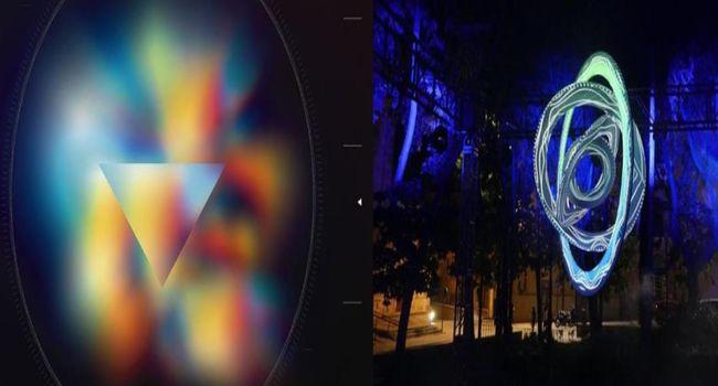 El mapping conquereix més de 1.000 m2 de diferents espais de Ca l'Estruch, aquest cap de setmana