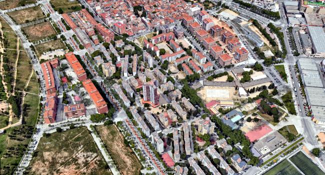 Ajuntament i Generalitat acorden avançar l'inici de l'estudi independent que determinarà l'estat real de 170 habitatges de Merinals