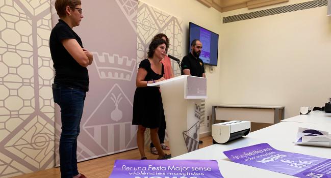 Sabadell reforça les actuacions per prevenir les agressions sexistes durant la Festa Major