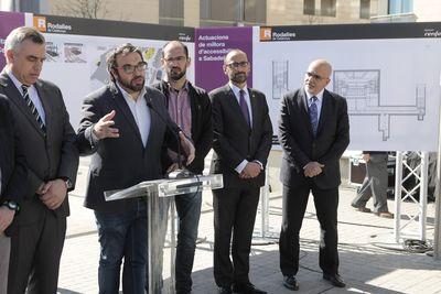El Govern valora molt positivament l'inici de les obres a l'estació Sabadell Centre