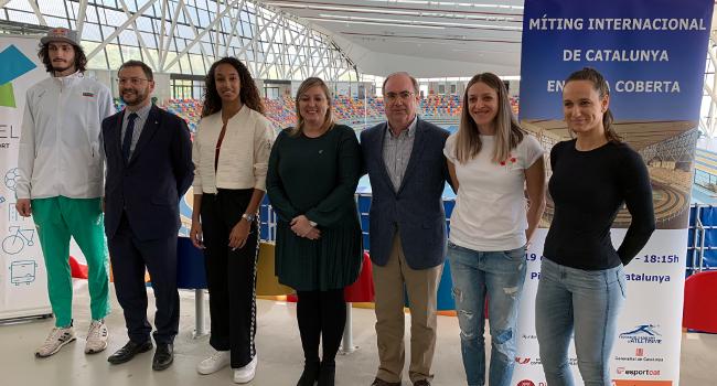 La Pista Coberta d'Atletisme de Catalunya torna a reunir atletes de nivell internacional