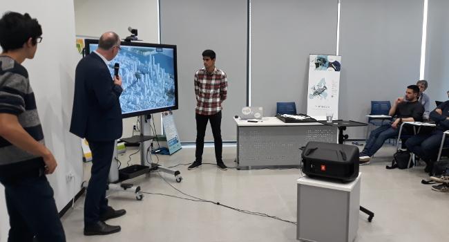 Creen el primer prototip de model 3D de Sabadell, en el marc del projecte Triangulum