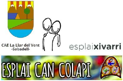 Cap de setmana de celebracions per als esplais La Llar del Vent, Can Colapi i Xivarri