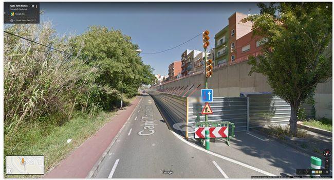 L'Ajuntament presenta la solució definitiva per arranjar el mur del carrer de l'Onyar davant dels veïns