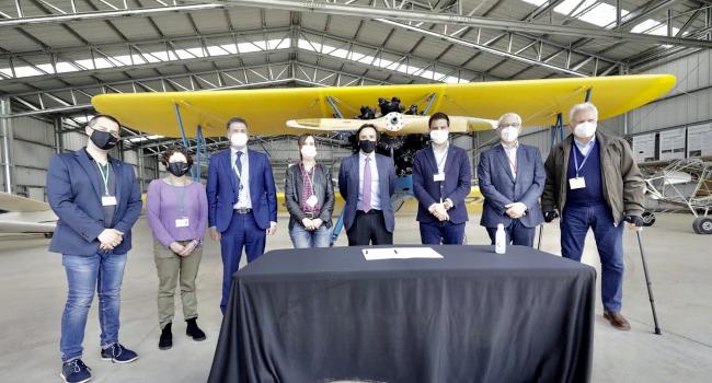Amb l'avenç del Museu Aeronàutic, l'Aeroport dóna un pas endavant per consolidar-se com a pol d'activitat a Sabadell