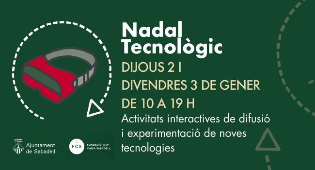 Tercera edició de Nadal Tecnològic, la mostra interactiva de tecnologia, als Jardinets de la Caixa
