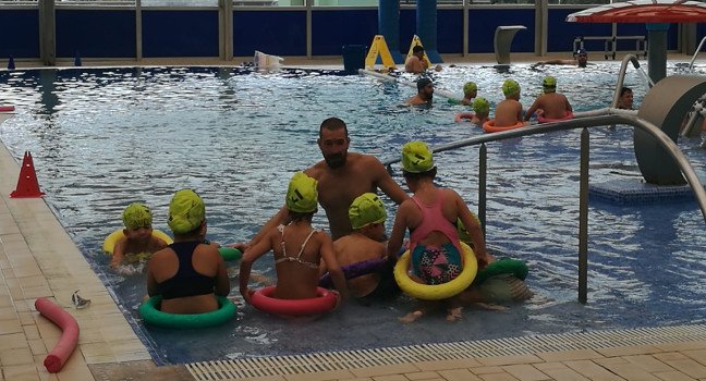 Creix el nombre d'escoles que es beneficiaran dels cursos gratuïts de natació el proper curs