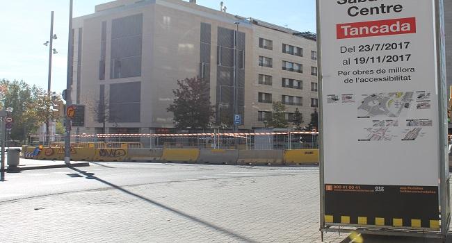 L'Ajuntament denuncia que Renfe incompleix el calendari d'obres a l'estació de Sabadell Centre