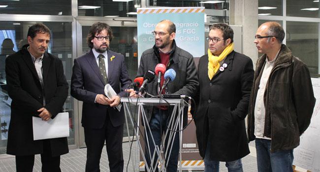 Comencen les obres d'integració urbana dels FGC a Gràcia i a Can Feu